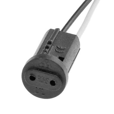 G4 110-240 V Copertă din plastic + PCB + rășină epoxidică impermeabilă Cablu electric 20 W