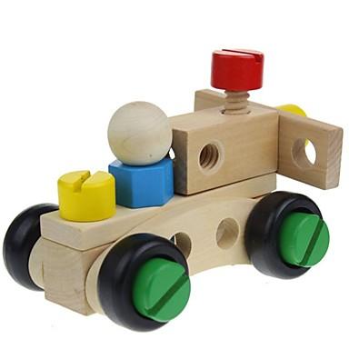 olcso Építőjátékok és építőkockák-30 db fa fajta dió szétszerelés és kombinációs játék a gyermekek puzzle játékok