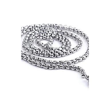 Lănțișoare Mariner Chain Personalizat Modă Oțel titan Argintiu Coliere Bijuterii Pentru Zilnic Casual