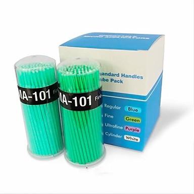 Profesional Machiaj perii Geană Brush 100pcs Păr sintetic / Perie Fibre Artificiale Pensule de Machiaj pentru