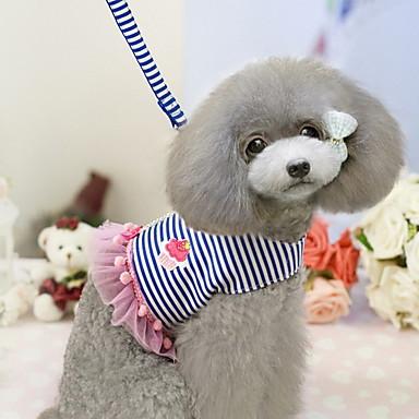 Câine Hamuri textil Rosu Albastru
