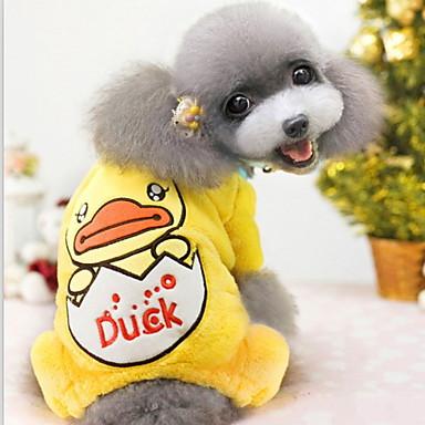 Câine Hanorace cu Glugă Iarnă Îmbrăcăminte Câini Costume Material amestecat Cosplay S M L XL