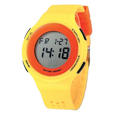 1697c983bbb77 نسائي ساعة رقمية كوارتز رقمي جلد اصطناعي أسود   أزرق   أحمر 50 m ساعة رياضية.  رخيصةأون ساعات ...
