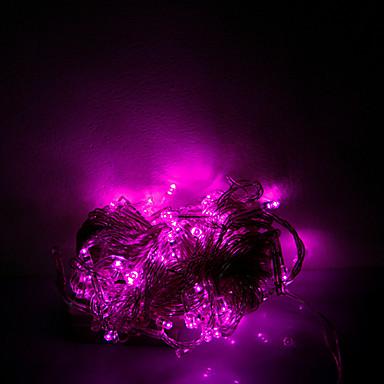 brelong 1 buc 10m 100ml Halloween șir decorativ de culoare roz roz ac220v