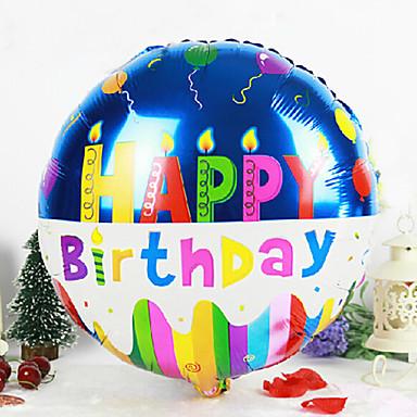 sretan rođendan na ruskom okrugli sretan rođendan aluminija membranom beba tuš rođendan  sretan rođendan na ruskom