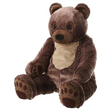 olcso Plüssjátékok-28 colos nagy medve töltött babák plüss játék