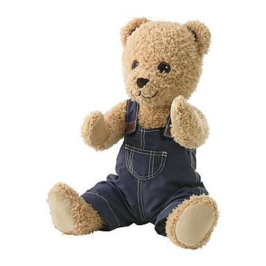 olcso Plüssjátékok-20inch aranyos medve ruha kitömött állat plüss játék