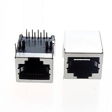 olcso Aljzatok és konnektorok-rj ethernet kábel interfész általános RJ45 hálózati interfész (5db)