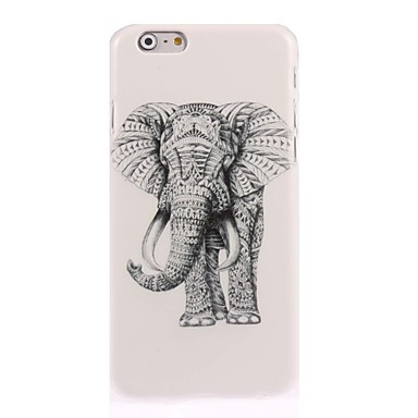 Maska Pentru Apple iPhone 7 Plus / iPhone 7 / iPhone 6s Plus Model Capac Spate Animal / Elefant Greu PC