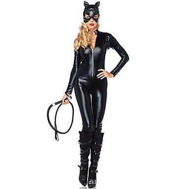 Pentru femei Super eroi lilieci Sex Costume Zentai Costum Costume Cosplay Mată Leotard / Onesie