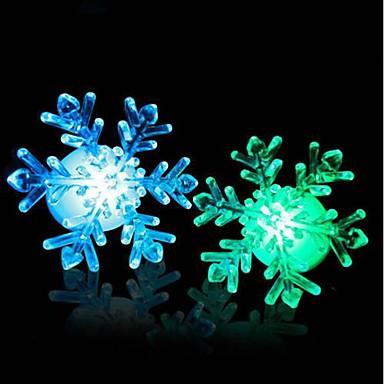 preiswerte Weihnachtsbeleuchtung-Acrylweihnachtsschnee führte Nachtlicht