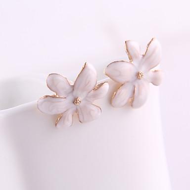 Pentru femei Cristal Cercei Stud Floare femei cercei Bijuterii Pentru Zilnic Petrecere Nuntă Concediu