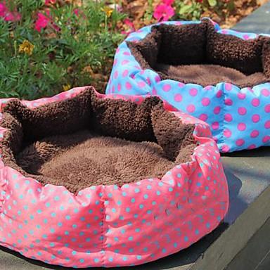 lureme cald punct val model cuib rotund pentru animale de companie caini (culoare aleatorii)