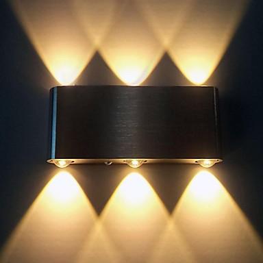 זול תאורת פנים-BriLight מודרני עכשווי מתכת אור קיר 90-240V 1w / משולב לד