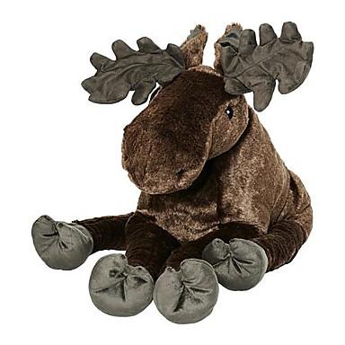 olcso Plüssjátékok-20inch jávorszarvas szürke karácsony szarvas kitömött állat plüss játék