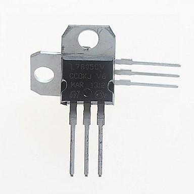 L7805CV regulator de tensiune 5V / 1.5A la-220 (5pcs)
