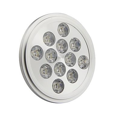 Spoturi LED 1320LM GU10 AR111 12 LED-uri de margele LED Putere Mare Alb Rece 85-265 V / RoHs / CE