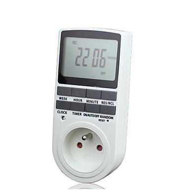 időzítő dugó programozható időzítő kapcsoló 24 7 napos hét digitális LCD  kijelző a fr 1942090 2019 – €21.99 4800d4e9c2