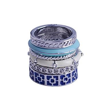 Pentru femei Albastru Aliaj Petrecere Zilnic Bijuterii