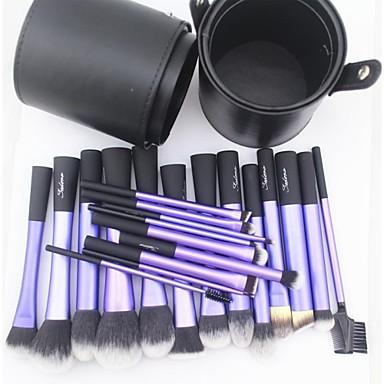 Profesional Machiaj perii Seturi perie 22pcs Păr sintetic / Perie Fibre Artificiale Pensule de Machiaj pentru Set Pensule Machiaj