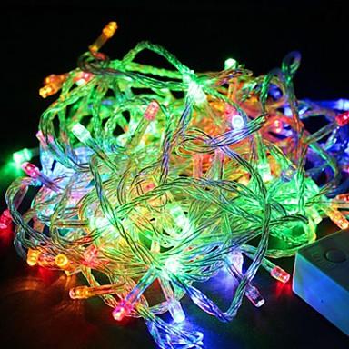 JIAWEN 1 buc 4 W 280 lm 100 LED-uri de margele Dip LED Rezistent la apă / Intensitate Luminoasă Reglabilă / Decorativ RGB 110 V