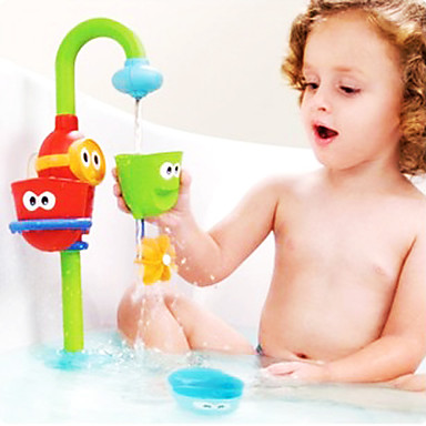 رخيصةأون ألعاب الماء-مسرحية الطفل رذاذ حمام الماء تدعمها jenga اللعب