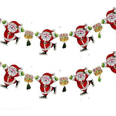 14404933288 [€12.78] Χριστουγεννιάτικη διακόσμηση διακοπές χώρο Άγιος Βασίλης τιράντες