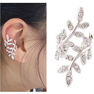 ieftine Cercei-Pentru femei Cătușe pentru urechi Cercei cu spirală Floare Iubire Ieftin European Cute Stil de Mireasă cercei Bijuterii Auriu / Argintiu Pentru Nuntă Petrecere Casual