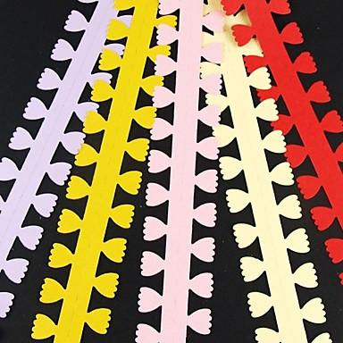 olcso Gyermek kézműves készletek-5db 3cm x 51cm szirom alakú virágszirom fodros papírlap kreatív diy origami papírhengerlés