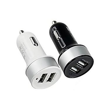 저렴한 차량용 충전기-차 충전기 USB 충전기 멀티 포트 2 USB 포트 2.1 A / 1 A DC 12V-24V 용