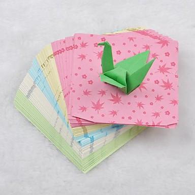5 de color patrón de la hoja de arce 6.5cm papercranes materiales ...