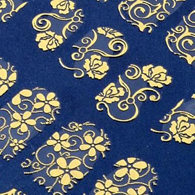 108 pcs Ustensile de Specialitate / Nail Sticker Comun / #D / Decals pentru unghii Nail Art Design