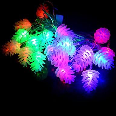 1pc 2 w condus margele dip LED impermeabil / partid / decorative rgb 220v minunat pin nuci lansete