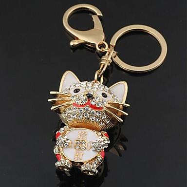 3d bling strass härlig lycklig katt nyckelring metall nyckelring bilnyckel  2110413 2019 – €14.99 37f91b0a0bc7d