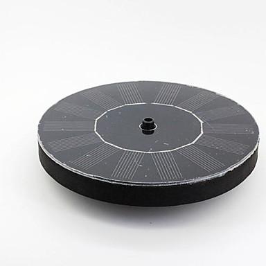 ieftine Accesorii Animale Mici-runda plutitoare tip solar pompa de apă alimentat