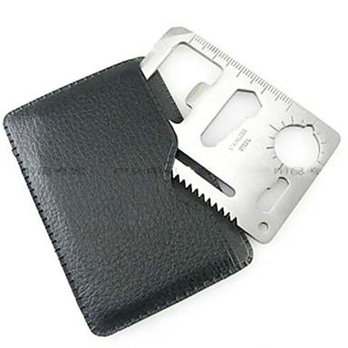 olcso Kemping felszerelések-Credit Card túlélési eszköz Rozsdamentes acél Szabadtéri Forgásc