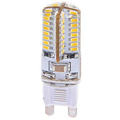 YWXLIGHT® 1 buc 3 W 360 lm G9 Becuri LED Corn T 64 LED-uri de margele SMD 3014 Alb Cald 100-240 V