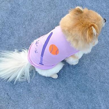 Pisici Câine Tricou Îmbrăcăminte Câini Mov Costume Terilenă Cosplay Nuntă XS S M L