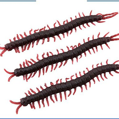 Simulation Animal Centipede Halloween Props Arranged The Whole Person (Set of 5) Color Random
