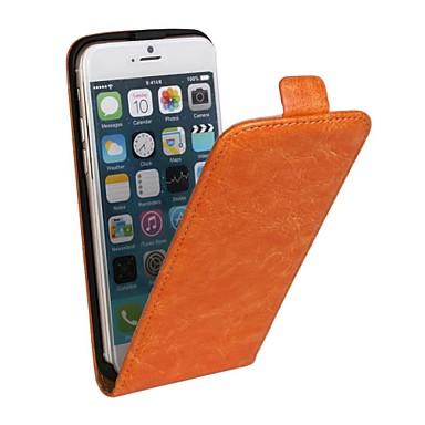 Maska Pentru Apple iPhone 6s Plus / iPhone 6s / iPhone 6 Plus Întoarce Carcasă Telefon Mată Greu PU piele