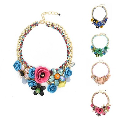 Vrhunske modne ogrlice ogrlice Postavite plava kava siva emajl privjesci.