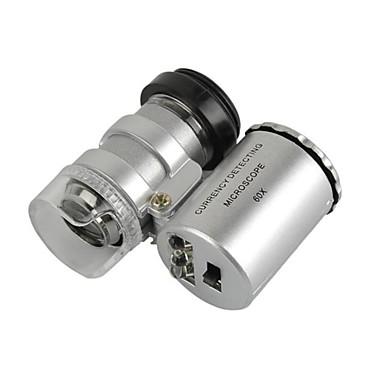 Univerzalni mikroskop 60x objektiv postavljen za iPhone / iPad / Samsung / HTC + više mobitel / tablet računala