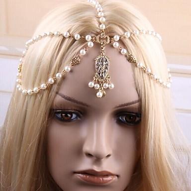 Δύση στυλ της μόδας αλυσίδα μαργαριτάρι μαλλιά ζεστό πώληση όμορφα αξεσουάρ  για τα μαλλιά μοντέρνα νύφη hc0054 μαλλιά κοσμήματα 2361486 2019 – €14.99 e3ad5b7b60e