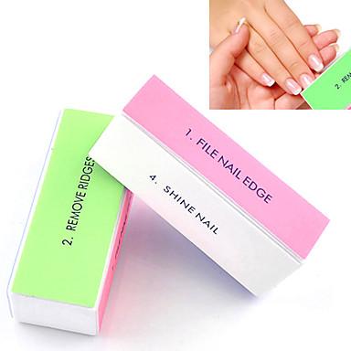 olcso Egészség & szépség-1db 4-utas nail art horzsolási blokk csiszoló files / eltávolítása bordák / sima köröm / köröm ragyog