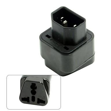 ieftine Cabluri de Adaptor AC & Curent-IEC320 C14 C13 soclu la usa Europa Marea Britanie australian toate într-un singur adaptor de alimentare Combo