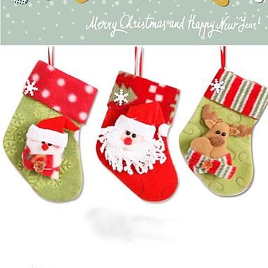 olcso Sapkák és fejfedők-egy pár zokni chritmas dekoráció (véletlenszerű minta)