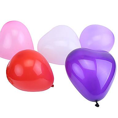olcso Balloons-Labdák Léggömbök Szív Fiú Lány Parti Móka Felfújható Klasszikus Játékok Ajándék
