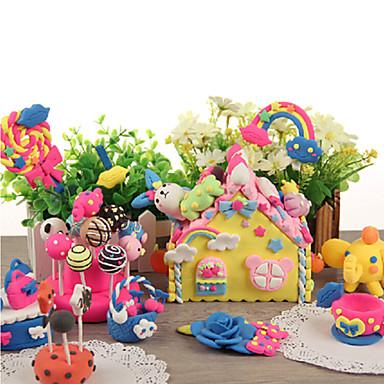 olcso gyurma-kk nyúl 12 szín mágneses gyurma gyermekek oktatási játékok (rózsaszín)