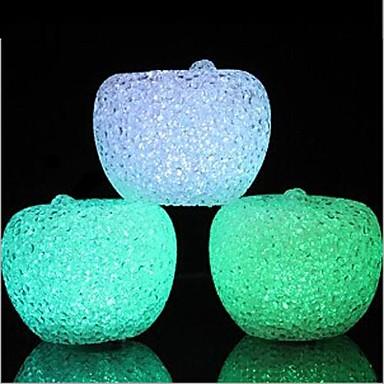 preiswerte Weihnachtsbeleuchtung-Kristall Apfel LED-Nachtlicht