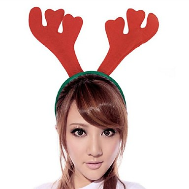 olcso Sapkák és fejfedők-Toonykelly Christmas Decorative Antler Hair Band MITB Party Supplies